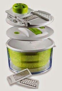 Mandoline Slicer & Salad Spinner (Sharper Image)