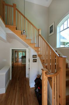 Stair hall craftsman staircase | D.C. Metro