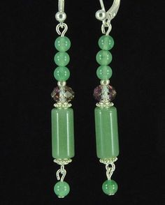 -----  E-shop www.lapilly.com  ----- Boucles d'oreilles Aventurine de chez Lapilly. www.lapilly.com Bracelets, Drop Earrings, Shop, Collection, Jewelry, Fashion, Boucle D'oreille, Locs, Jewerly