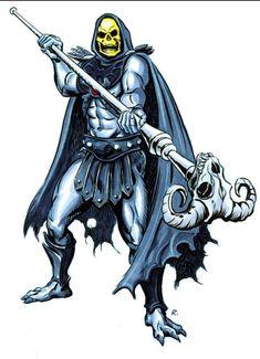 Skeletor Okland Raiders, She Ra Princess Of Power, Sword And Sorcery, Batman Vs Superman, Thundercats, Heart For Kids, Masters, Tatoos, Book Art