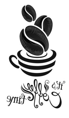 . Coffee with wordart