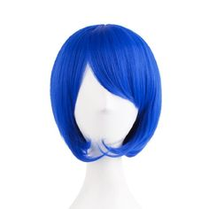 Pin for Later: The Most Outrageous Celebrity Costume Ideas For Halloween   Map of Beauty Fashion Girl Natural Short Wig in Blue ($7)