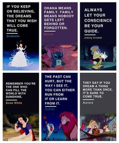Interesting disney quotes