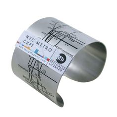 NYC Metro Cuff Black, $28, now featured on Fab.