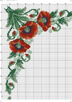 This Pin was discovered by vus Cross Stitch Borders, Cross Stitch Flowers, Cross Stitch Kits, Cross Stitching, Cross Stitch Embroidery, Cross Stitch Patterns, Tapestry Crochet, Le Point, Loom Beading