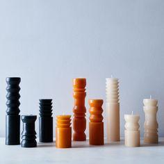 Totem Pillar Candles (Set of 3) on Food52