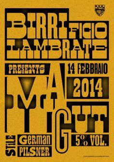 MAGUT - Beer poster - Alessandro Boscarino