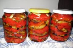 53152 Canning Pickles, Romanian Food, Romanian Recipes, Winter Salad, Yummy Food, Good Food, Fermented Foods, Preserving Food, Canning Recipes