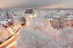 neve, gelo, paisagens