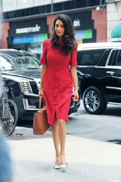 Amal Clooney's Impeccable Street Style