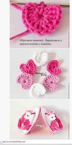 Cómo tejer sandalias crochet para bebé - Paso a Paso