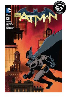 A Newbury Comics exclusive variant cover comic. (W) Scott Snyder (A) Danny Miki, Greg Capuillo (CA) Tim Sale Batman has returned to Gotham City! In this extra-sized conclusion to Snyder and Capullo's