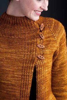 Off-Rib Cardigan, Stefanie Japel, knit.wear 2011