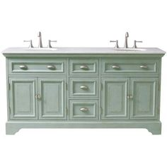 love the double vanity design with center storage to replace ugly