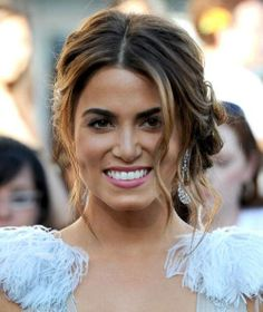 celebrity updos nikki reed - Google Search