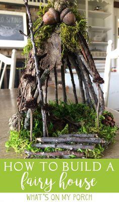 25 Cute DIY Fairy Furniture and Accessories For an Adorable Fairy Garden Fairy Tree Houses, Fairy Garden Houses, Diy Fairy House, Fairy Gardening, Fairies In The Garden, Diy Fairy Garden, Garden Art, Pallet Gardening, Fairy Village