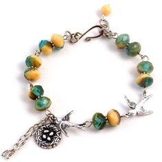 Tutorials | Bird Nest Bracelet | Handmade Fashion Jewellery – Devoted to DIY Jewellery