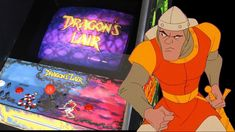 Dragon's Lair is a laserdisc video game published by Cinematronics in 1983 as the first game in the Dragon's Lair series. #DragonsLair #LaserDisc #Arcade #Retrogaming