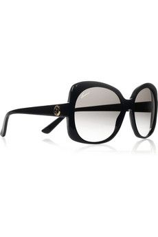 Gucci|Oversized-frame acetate sunglasses|NET-A-PORTER.COM - StyleSays