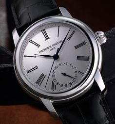 """Frederique Constant Classic Manufacture Watch - by Zach Pina - More on the updates for 2016 at: aBlogtoWatch.com - """"Generally speaking, when it comes to affordable in-house-manufactured movements, there's a marked dearth of options between the most obvious players, like Seiko and Rolex – both of whom largely exist far apart on the budget spectrum. But for those in the know, Frederique Constant is an notable option – particularly with the latest updates..."""""""