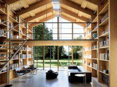 library, living room, light.  lovely.