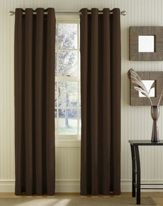 paint colors with chocolate curtains wall with silk chocolate rh pinterest com