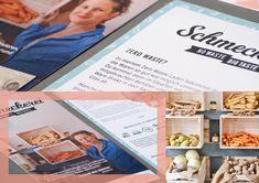 "Folder layout – part of branding project for the zero waste shop ""Schmeckerei"". Of Brand, Zero Waste, Branding Design, Layout, Shop, Projects, Decor, Log Projects, Blue Prints"
