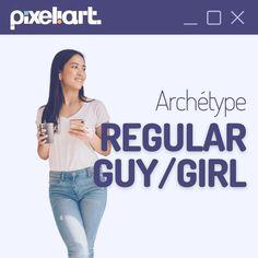 Archétype de marque | Mr/Mme Tout-le-monde (Regular guy/girl) Guys And Girls, T Shirt, Women, Fashion, Everything, Supreme T Shirt, Moda, Tee Shirt, Fashion Styles