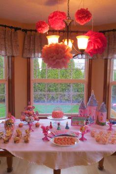 Disney Princess Palace Pet Birthday Party