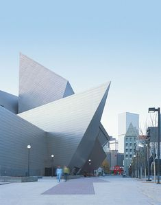Denver Art Museum / Daniel Libeskind - the building that inspired me, and i'm sure many others, to pursue a career in architectural design