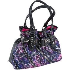 I WANT THIS BAG!!!!!!!! Monte Vista Women's Muddy Girl Camo Satchel Handbag