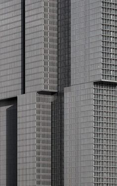 OMA/Rem Koolhaas. De Rotterdam. Rotterdam, Netherlands.