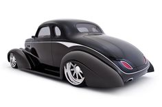 Believe it or not…this is a REAL car, built by Rob Ida Concepts. '37 Chev Custom