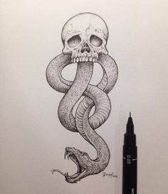 Find images and videos about art, harry potter and voldemort on We Heart It - the app to get lost in what you love. Harry Potter Dark Mark, Harry Potter Sketch, Harry Potter Journal, Harry Potter Drawings, Harry Potter Tumblr, Harry Potter Pictures, Harry Potter Books, Harry Potter Fan Art, Harry Potter Fandom
