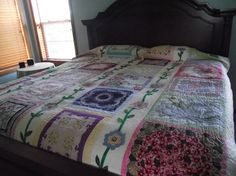 valentine hankie quilts | Grannie's Hankies Queen Quilt by Sweet Tooth by SweetToothQuilts