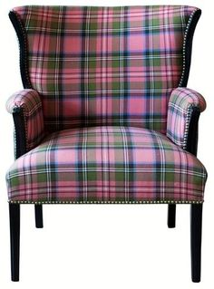 I love the color of this plaid