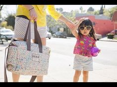▶ Feed + Oh Joy - The Making of a Very Special Diaper Bag - YouTube