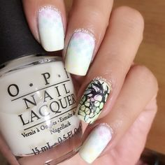 Uberchic beauty nail stamp plate - easy nail art design