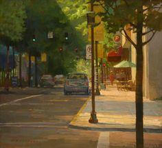 Aimee Erickson (oil on canvas)