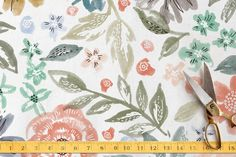 English Garden Fabric by Alethea and Ruth at minted.com