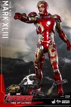 Avengers: Age of Ultron: New Iron Man Armor Revealed