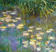 Claude Monet, Water Lilies.  Larger:  http://farm4.staticflickr.com/3260/3249779517_231a32a67a_b.jpg