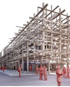 Austrian Pavilion - EXPO 2015 Milano by Alexander Daxböck, via Behance