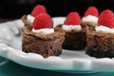 Mini Chocolate Cheesecake Dessert Recipe ~ Missinthekitchen.com