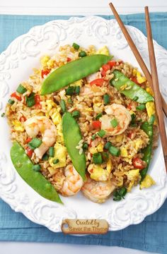 Post image for Shrimp & Snow Pea Fried Rice Recipe