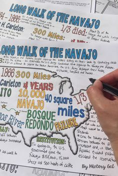 In 1864, the Navajo were forced to walk to a reservation called Bosque Redondo. For 4 years, they endured horrific conditions before the U.S. government allowed them to return to their land. Help students understand this period in U.S. History with the Long Walk of the Navajo doodle notes. $ These are perfect in your 6th, 7th, 8th, 9th, 10th, and 11th grade classroom! It'll also be an engaging lesson for your homeschool students! Middle school and high school approved!