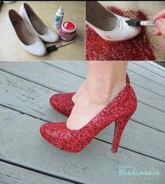 #Old-Shoes   #new-look a little secret of amazing transformation!!