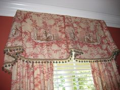 Chinoiserie Toile Valance by Posh Living, LLC, via Flickr