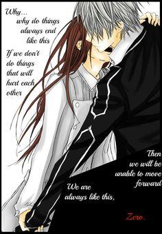 Vampire Knight - Zero and Yuuki