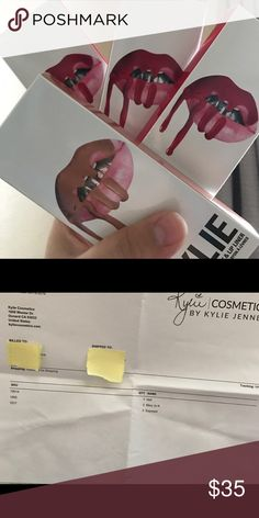 AUTHENTIC Kylie Cosmetics Mary Jo Lip Kit Sale is for ONE authentic Mary Jo K Lip Kit. Comes with liquid lipstick & matching liner. These were bought for the holidays & are the extras. Originally was bought at $30 + $9 shipping. Never swatched or open, these are BRAND NEW. Exposed Lip Kit is in a separate listing Kylie Cosmetics Makeup Lipstick